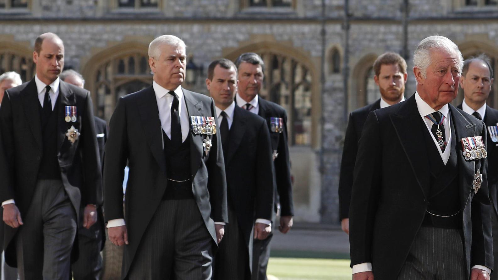 Nach Prinz Philips Beerdigung: Prinz Harrys Krisengespräch mit der royalen Familie