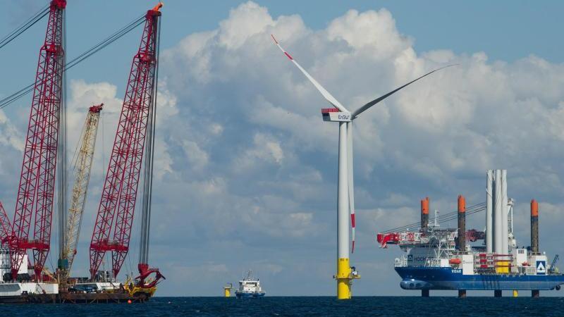 Energiekonzern EnBW mit Windpark Baltic 2 zufrieden