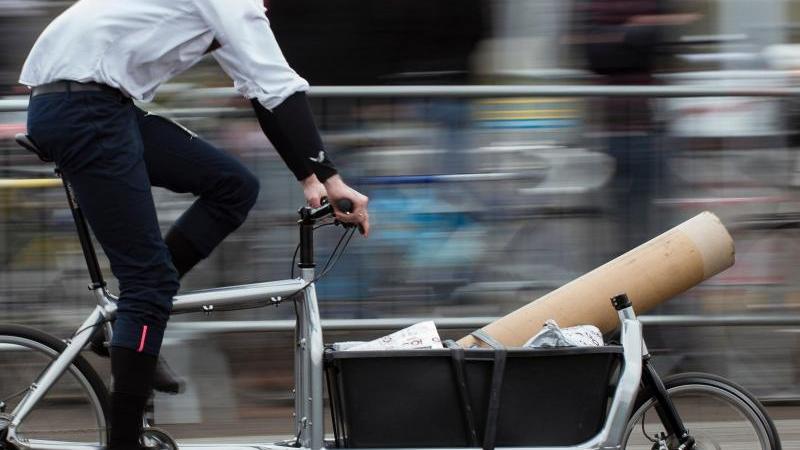 Experten: Lastenräder können zur Verkehrswende beitragen