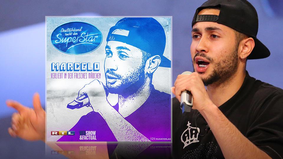 DSDS 2015: Marcelos Song Verliebt in der falsches Mädchen hier runterladen