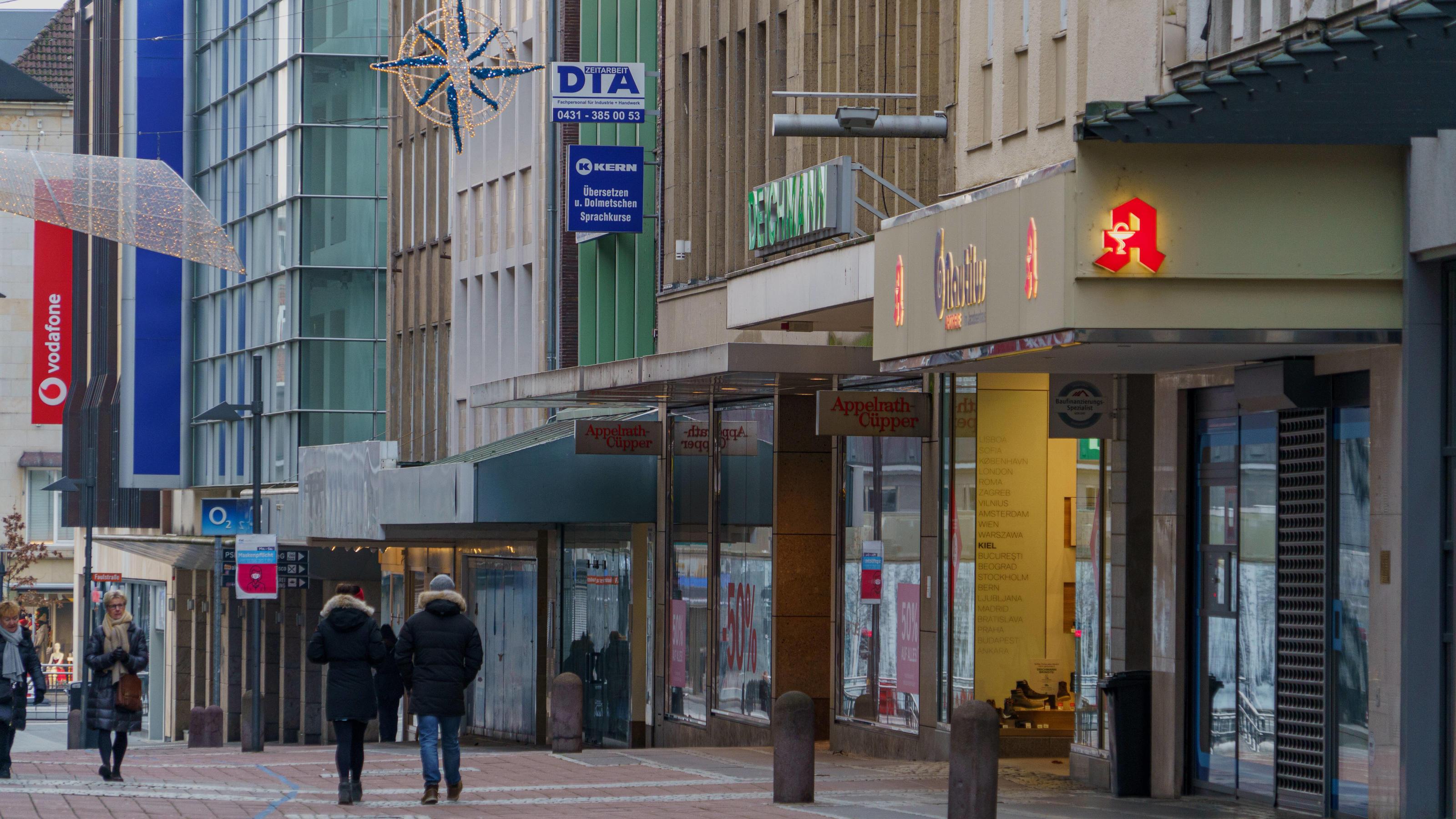 Zara, H&M, Kaufhof & Co.: Diese Läden verschwinden 2021 aus den Städten
