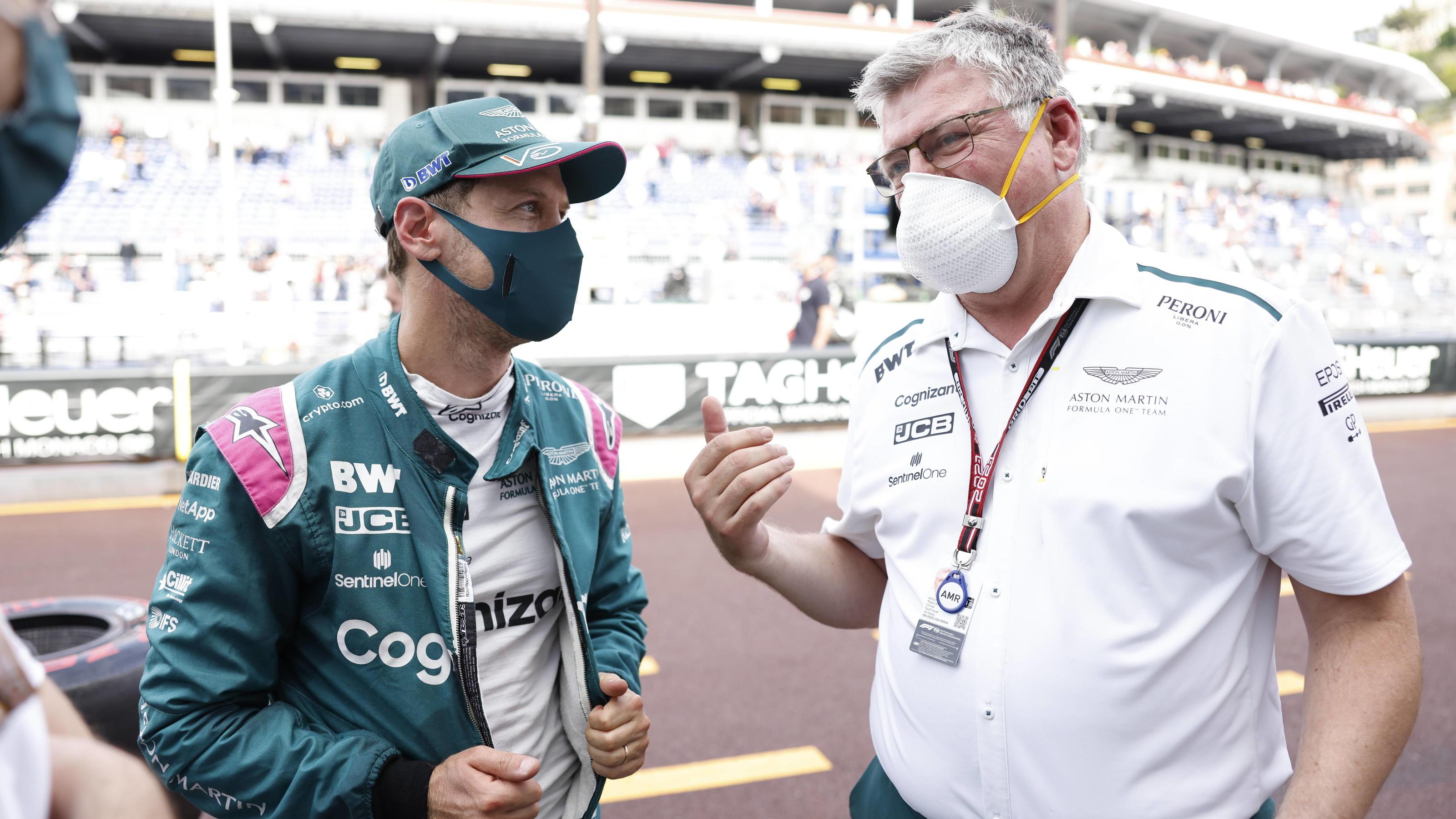 Formel 1: Warum Aston Martin weiter auf Sebastian Vettel setzt - Otmar Szafnauer erklärt's