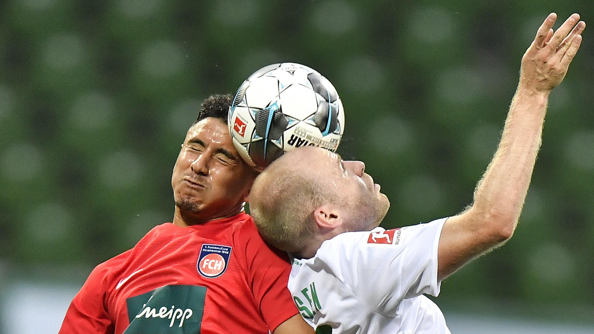Werder Bremen - 1.FC Heidenheim zur Pause 0:0