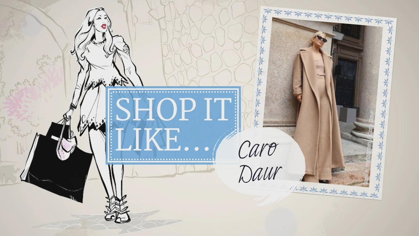 Shop it like: So geht Caro Daurs Mantel-Style