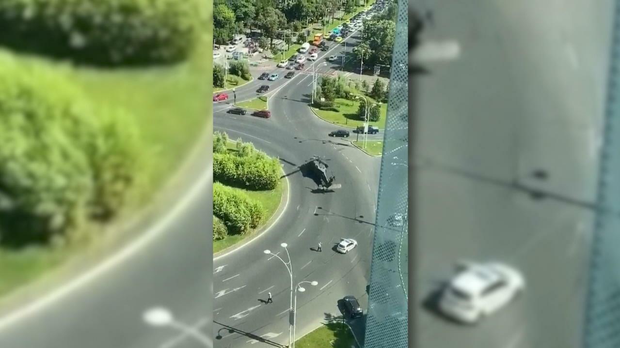 US-Militärhubschrauber muss mitten in Bukarest notlanden