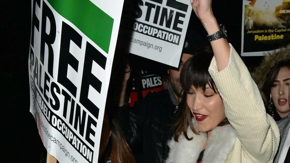 """""""Schäm dich"""": Israelische Regierung kritisiert Bella Hadid"""