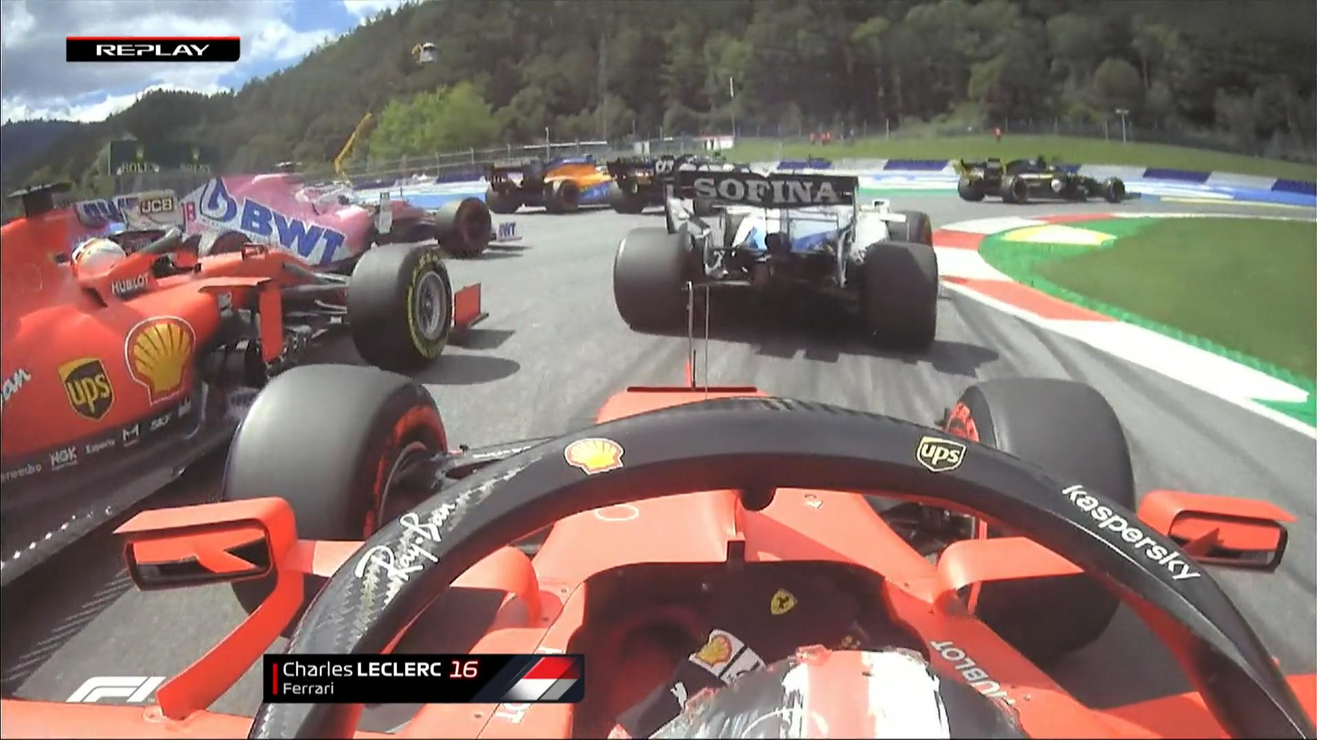Formel 1 Ferrari Fiasko In Spielberg Charles Leclerc Schiesst Sebastian Vettel Ab