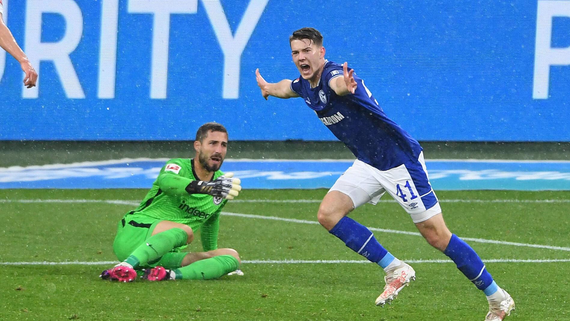 Schalke 04 besiegt Eintracht Frankfurt und bekommt dennoch eine bittere Erkenntnis