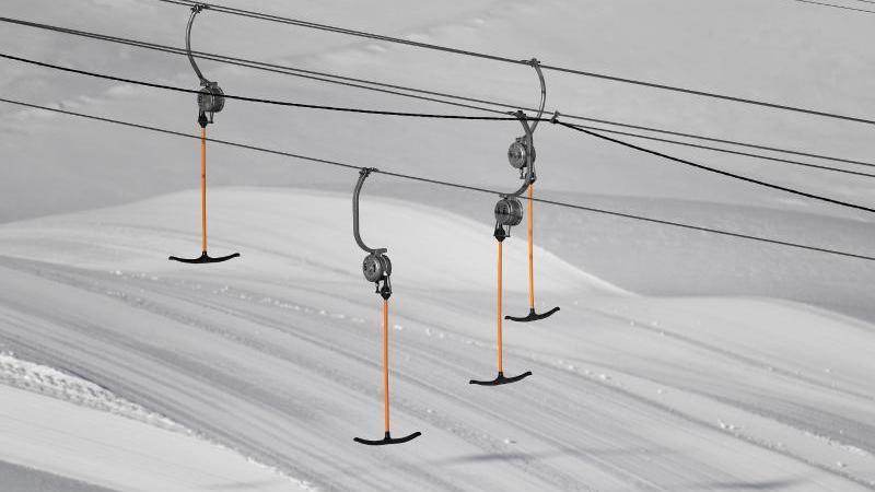 Lockdown an der Zugspitze: Sonne, Neuschnee - leere Pisten