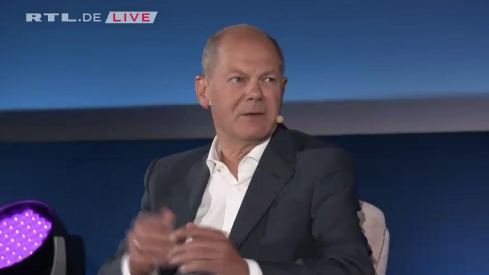 SPD-Kanzlerkandidat im Brigitte Talk: Über diese Frage empört sich Olaf Scholz