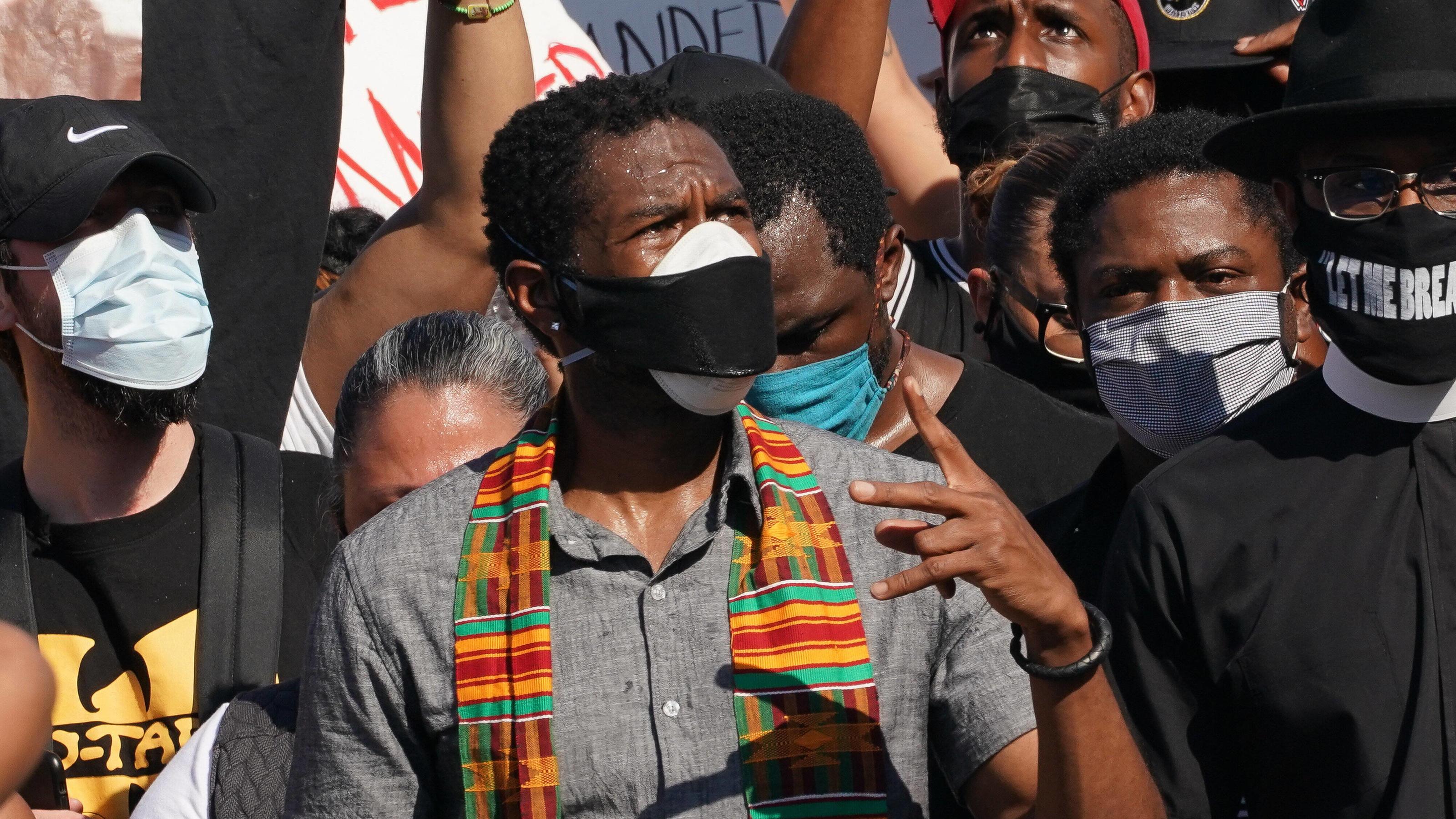 USA: Schwarze in Oregon müssen keine Corona-Masken tragen - um sie vor Rassismus zu schützen