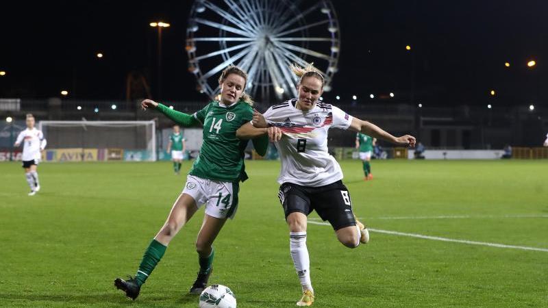 DFB-Fußballerinnen mit positivem Jahresausklang