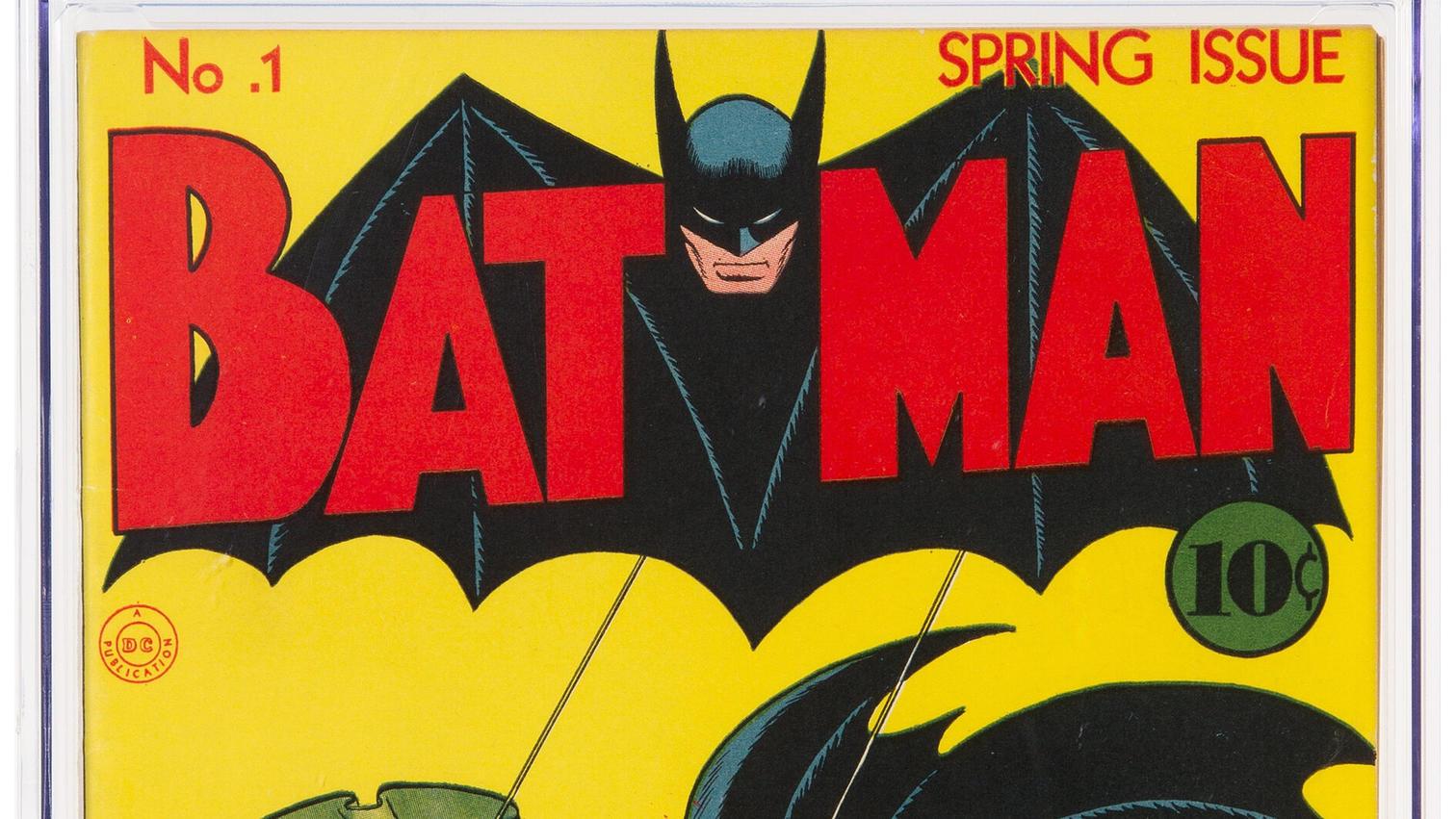 Dallas: Batman-Comic wird für Rekordsumme von 1,5 Millionen Dollar versteigert