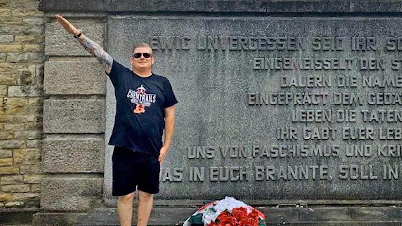 Ehemaliger CDU-Politiker Denny Oertel aus Gerbstedt zeigt Hitlergruß – Strafbefehl!