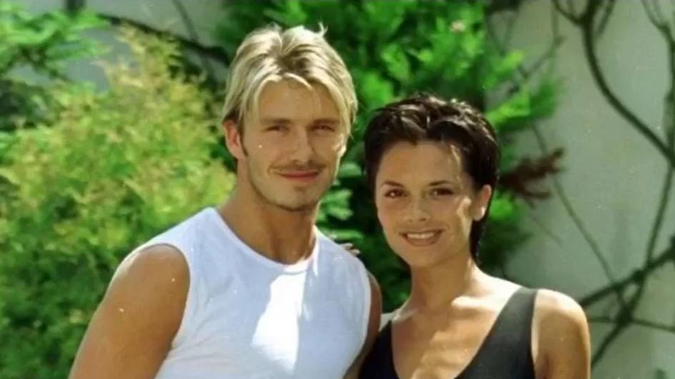 David Beckham verrät, wo er sich damals in Victoria verknallt hat