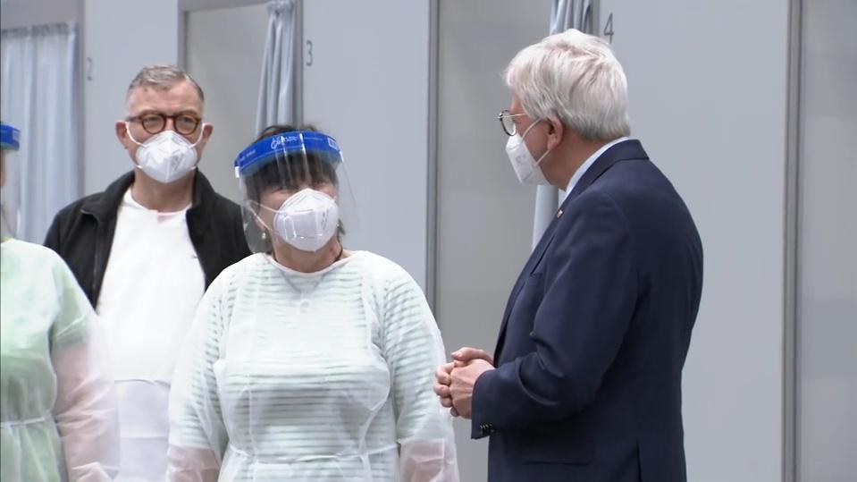 Ein Ende der Pandemie?: Impftempo in Hessen zieht an
