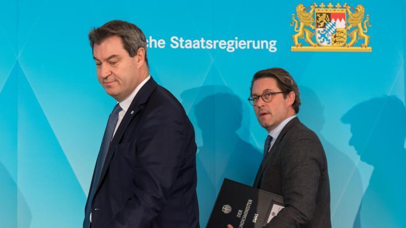 Söder und Scheuer geben Startschuss für weiteren A3-Ausbau