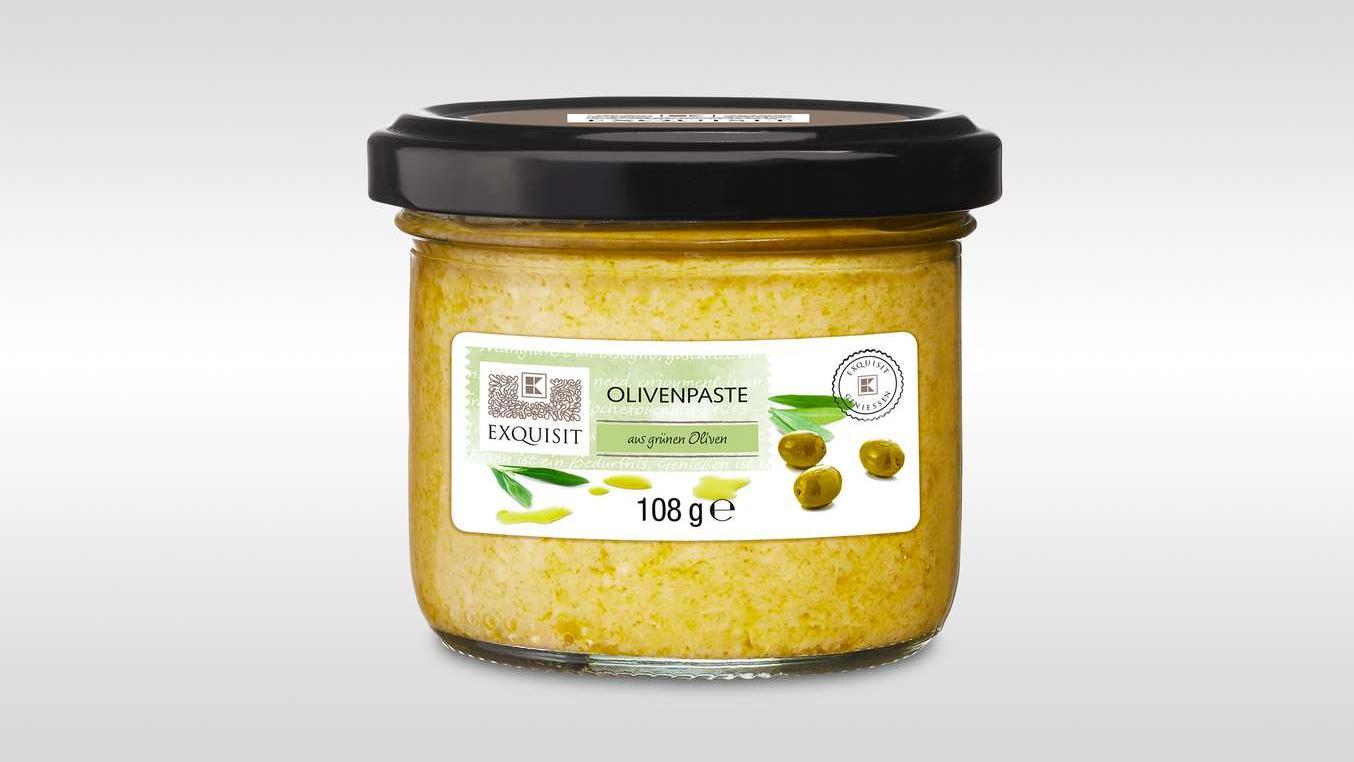 Rückruf bei Kaufland: EXQUISIT-Olivenpaste könnte Glassscherben enthalten