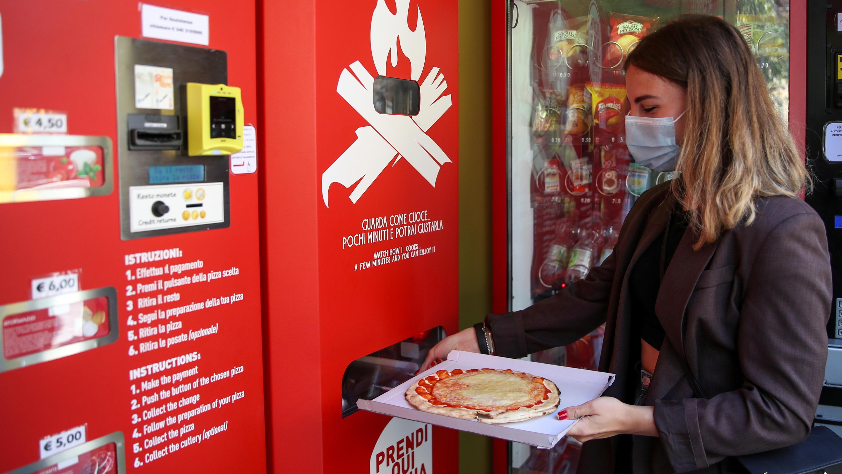 Mr. Go: SO schmeckt Pizza aus dem Automaten