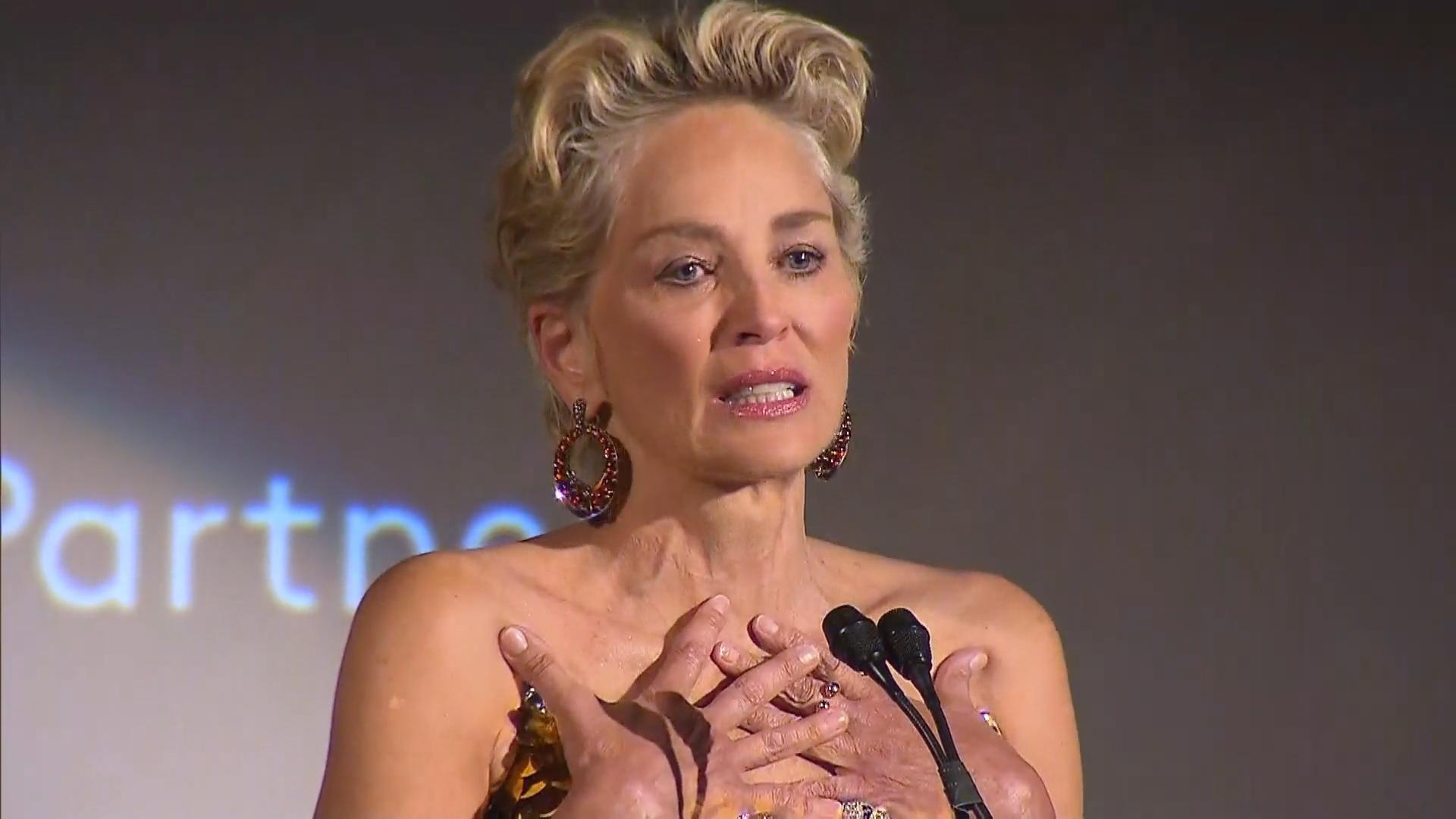 Missbrauch, Schlaganfall & Co.: Sharon Stone zeigt sich von ihrer verletzlichen Seite