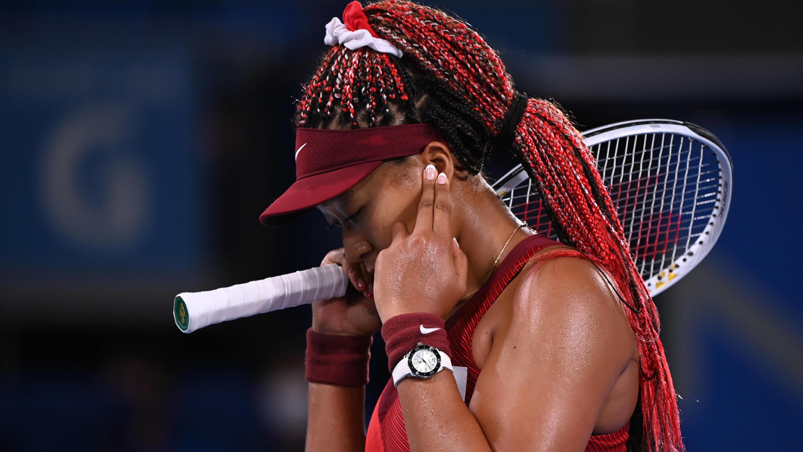 Olympia 2021: Naomi Osakas bittere Tränen und bemerkenswerte Sätze